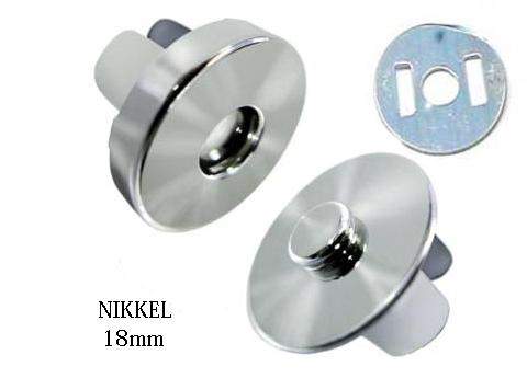 Mágneses táskazár (patent) 18mm