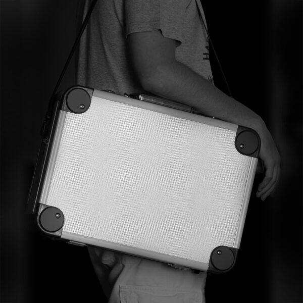Fém szerszámtartó táska 450 x 330 x 160 mm