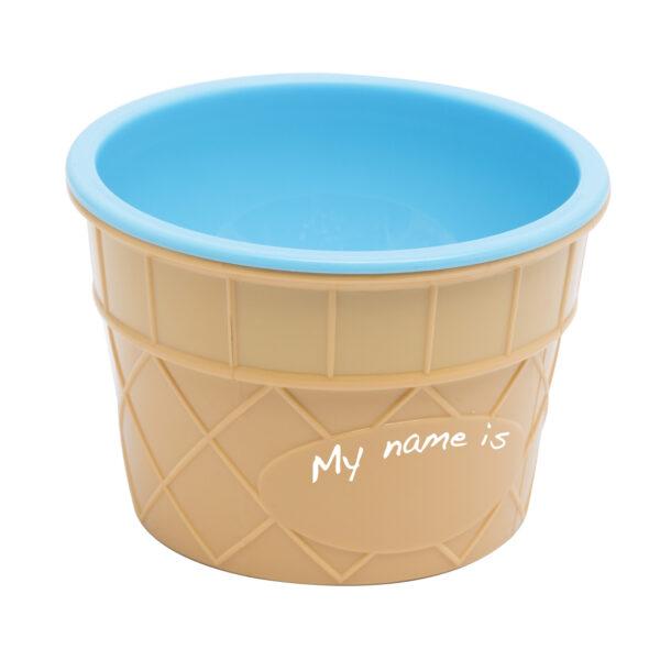Fagylaltpohár+kanál szett