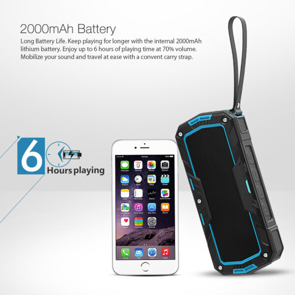BlitzWolf® BW-F3 IPX5 vízálló 2*5W Bluetooth hangszóró