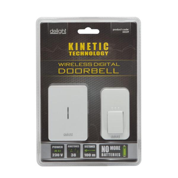 Digitális elem- és vezetéknélküli csengő - Kinetic