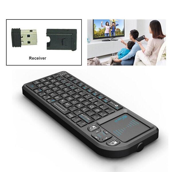 Rii X1 mini vezeték nélküli billentyűzet + touchpad