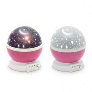 LED csillagos égbolt mini projektor lány