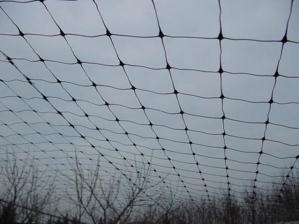TRELLISVolier háló Vo-200 fekete 2m magas