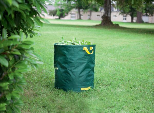 Erős, merev, kerti lombgyűjtő zsák 150 L / 272 L