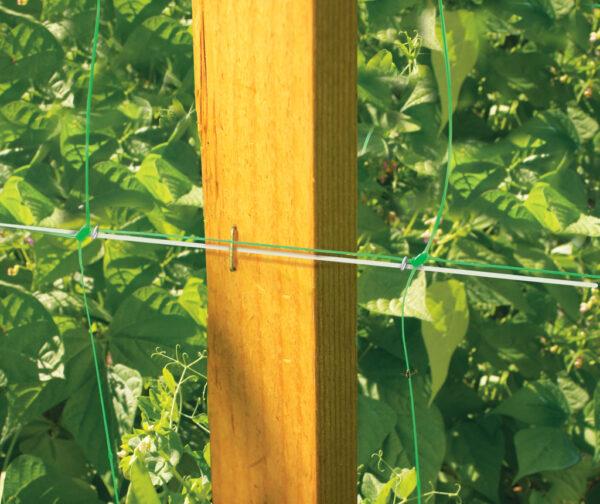 """Kerti növénytartó- és futtató háló, uborkaháló """"Trellinet """" 1,2x20 méter"""