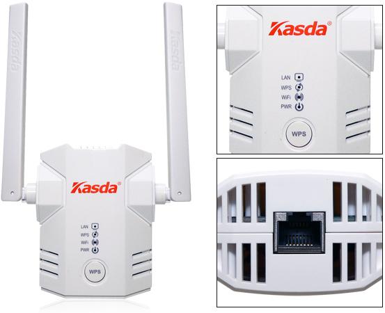 KASDA KW5583 2.4/5GHz WiFi lefedettségnövelő
