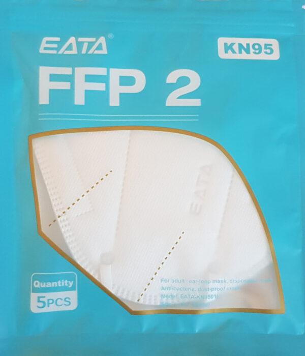 KN95 FFP2 ÖSSZECSUKHATÓ MASZK