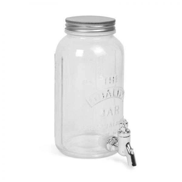 Italadagoló csappal, üveg - 1 L