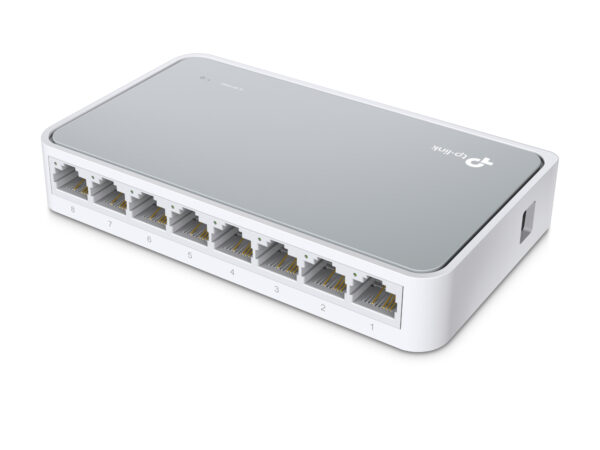 TP-LINK TL-SF1008D 8 portos 10/100 Mb/s asztali Switch