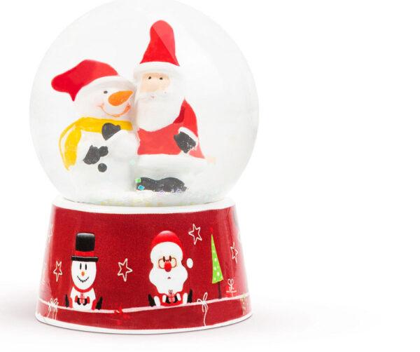 Karácsonyi mini hógömb - 2 féle