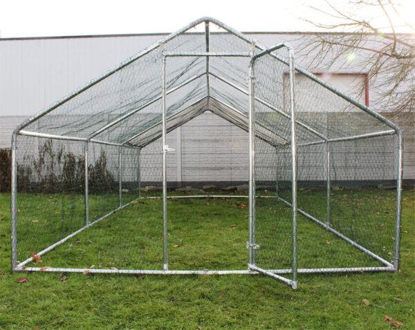 Kültéri madárház, tyúkól 4x3x2 méter