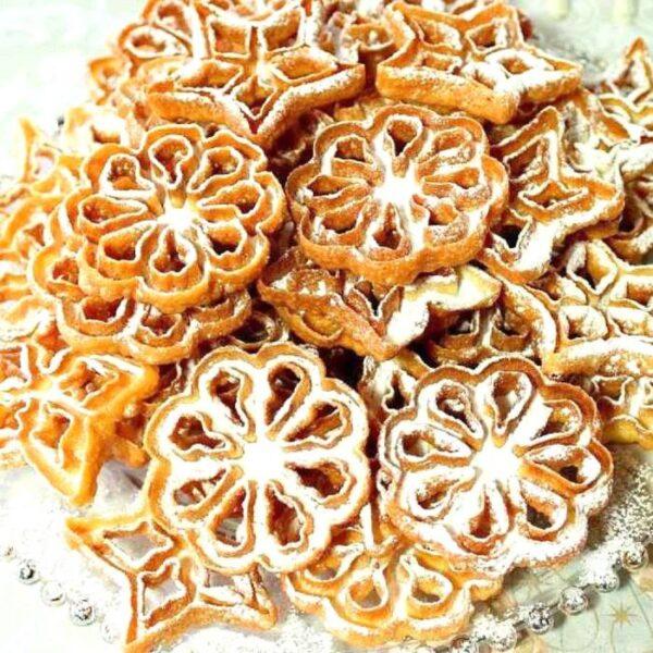 Rózsafánk sütő szett