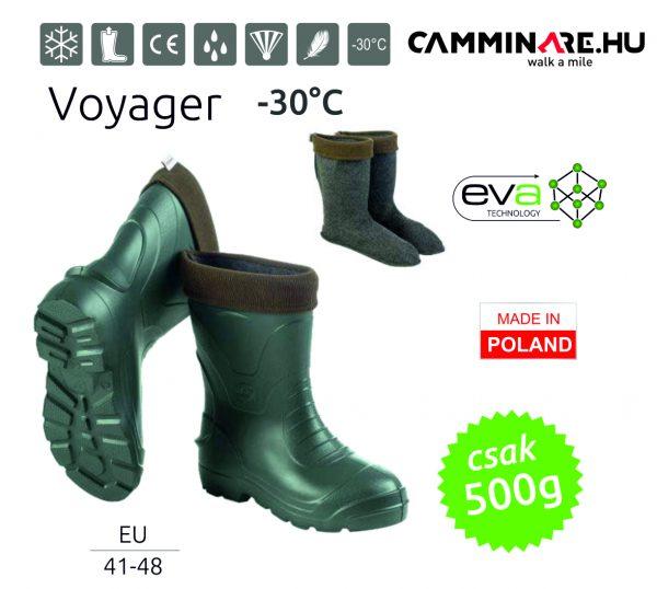 Voyager EVA csizma, ZÖLD (-30°C)