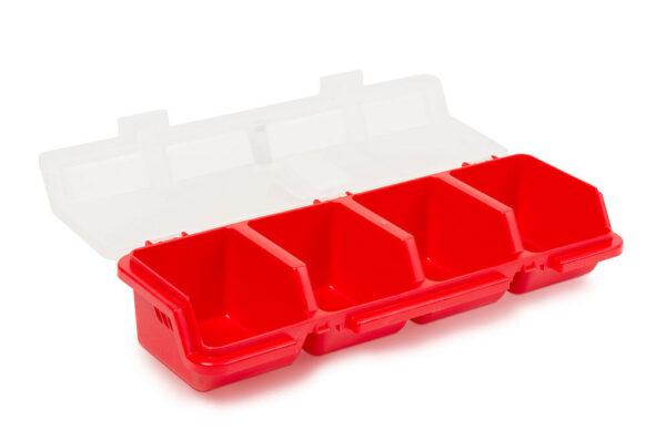 Rendszerező doboz 4 rekeszes