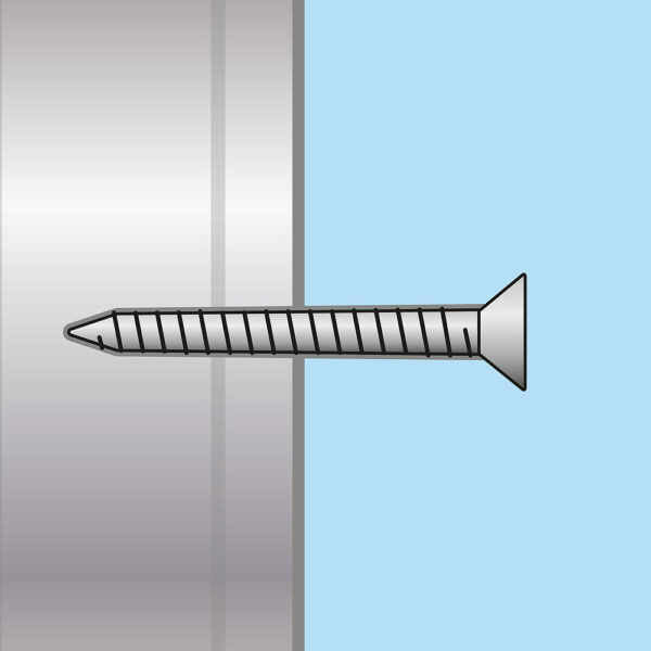 Gipszkarton csavar, fém menetes - 3,5 x 35 mm - 100 db / csomag