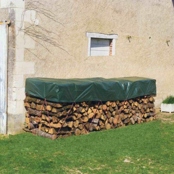 PROTEX 80 g/m2 erősített, vízhatlan takaróponyva