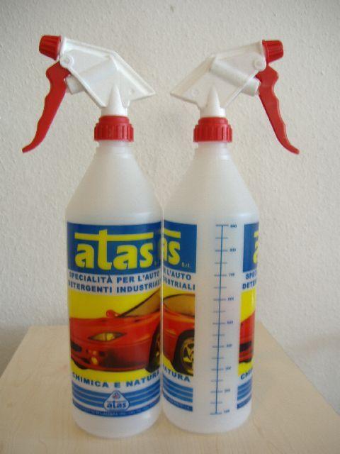 Szórófejes mércés flakon 1 liter