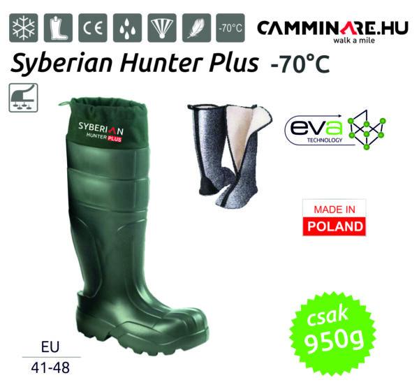 Syberian Hunter Plus EVA vadászcsizma ZÖLD